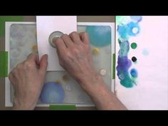Printing with Gelli Arts®: Gelli Printing: Dark Over Light Easy, fun and so versatile! Apply layers of light paint with a DIY sponge dauber, let it dry—then brayer dark paint over it and pull your print. Watch this Gelli video to see it demonstrated step-by-step!