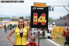 Fotos: Chicas GP de España F1 2014