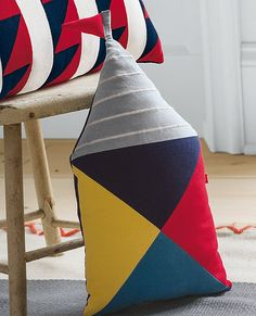 Pennant Pillows from #HannaAndersson.