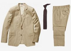 Bond's Desert Suit & Tie: Bonobos Fairfax  & TheTieBar Tie | Steal the Style: SPECTRE on Dappered.com