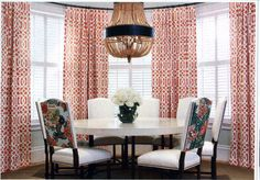 Lynn Chalk - Drapes in Kelly Wearstler Imperial Trellis in Mandarin, Please fill out Quote Form for Drapes for pricing or email me lynn@lynnchalk.com if you would like a similar custom product. (http://store.lynnchalk.com/drapes-in-kelly-wearstler-imperial-trellis-in-mandarin/)