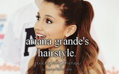 I try and try to recreate it! I don't know how she does her bangs though!!:/ is it a twist or a braid or does she just pull it back? I can do the half up just fine though:)  -Sammie