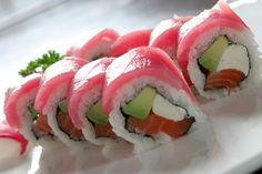 Philly roll, my fav. With a little extra!