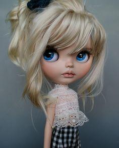 Ooak Dolls, Blythe Dolls, Art Dolls, Pretty Dolls, Beautiful Dolls, Mery Crismas, Anime Dolls, Little Doll, Toys Photography