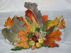 woodland fairy crown - if I am ever a faerie, I want to be an autumn faerie with a headpiece like this!
