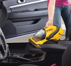 Hand Held Vacuum Cleaner Corded Stretch Hose Cleans House Car Upholstery Stairs  #Eureka71B
