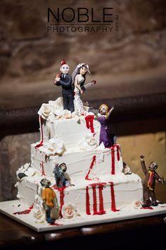 zombie wedding cake   Tumblr