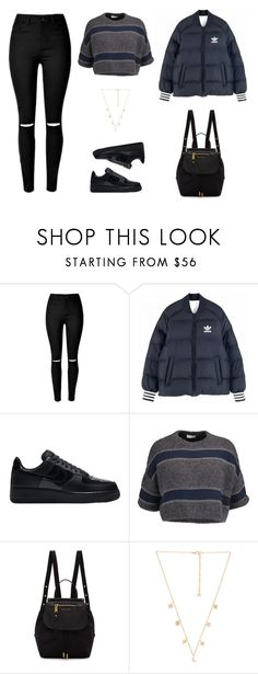 """""""Untitled #1028"""" by patrisha175 ❤ liked on Polyvore featuring adidas Originals, NIKE, Brunello Cucinelli, Marc Jacobs and Child Of Wild"""