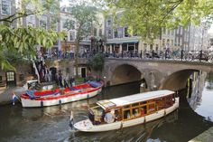 Utrecht- the home of Jan's youngest son.  A wonderful city