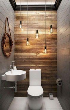 Diy bathroom wall tile sinks ideas for 2019 Wood Bathroom, Bathroom Colors, Bathroom Flooring, Bathroom Interior, Modern Bathroom, Master Bathroom, Bathroom Lighting, Bathroom Vanities, Bathroom Plants