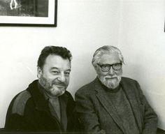 Patricio Manns y Francisco Coloane. Dos grandes de la literatura y cultura chilena.