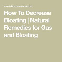 Remedies for decreasing gas and bloating. Learn about the passing of gas, bacterial fermentation, behaviors and food choices that can lead to gas and how to beat the bloat. Natural Remedies For Bloating, Natural Remedies For Gas, Bloating Remedies, Home Remedies For Gas, Gas Remedies, Human Body, Health, Tips, Health Care
