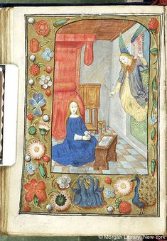 Book of Hours, MS M.234 fol. 56v - Images from Medieval and Renaissance Manuscripts - The Morgan Library & Museum