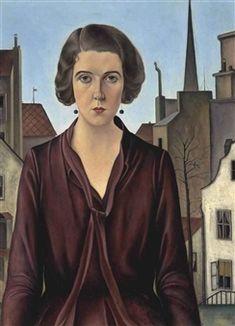 Joseph Abhar -  Anna Gabbioneta By Christian Schad ,1927