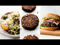 Tasty Vegetarian Recipes, Veggie Recipes, Whole Food Recipes, Vegan Meals, Best Falafel Recipe, Beans On Toast, Plant Based Burgers, Vegan Stew, Black Bean Burgers