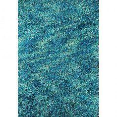 Elementz Starburst Ocean Area Rug | Elementz Starburst Ocean rug by Foreign Accents - hand made premium poly rugs