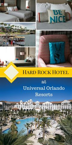 Get the rock star treatment at Universal Orlando Resorts Hard Rock Hotel