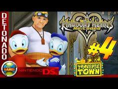 Kingdom Hearts: Re Codec Walkthrough #4 Traverse Town NDS