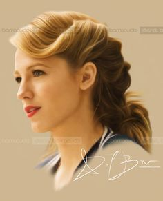 The Age of Adaline portrait of Blake Lively
