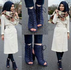 Muslim Women Fashion, Islamic Fashion, Modest Fashion, Hijab Fashion, Womens Fashion, Hijab Trends, Hijab Chic, Dress Picture, Hijab Outfit
