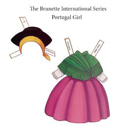 Paper Dolls~The Brunette International - Yakira Chandrani - Picasa Web Albums