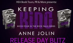 RELEASE DAY BLITZ - Keeping King by Anne Jolin - #Contemporary #Romance, HEA Book Tours  (March)