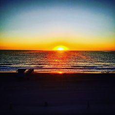 """The #sky broke like an egg into full #sunset and the water caught fire."" ~Pamela Hansford Johnson.  #instagood #beautiful #naturephotography #landscape #sunsetporn #sunsetphotographs #behappy #lilpickmeup #getoutside #motivation #inspiration #skyporn"