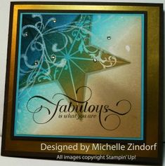 Fabulous - MZ by Zindorf - Cards and Paper Crafts at Splitcoaststampers