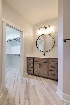 The Pendleton - Black Oak Builders Black Round Mirror, Round Mirrors, Pendleton Round Up, Parade Of Homes, Bungalow, House Plans, Vanity, Villa, Exterior