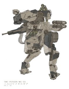 """sid - ajtron: """"Metal Gear Roo"""" Concept art for Metal..."""