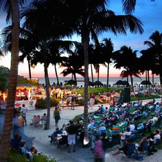 """The Naples Beach Hotel & Golf Club will again host its annual """"SummerJazz on the Gulf"""" concert series. This will mark the 30th consecutive year of the fun, free concert series, which combines an appealing and diverse selection of jazz entertainment with beautiful views of the Gulf of Mexico, stunning sunsets, cool breezes, and a relaxing atmosphere."""