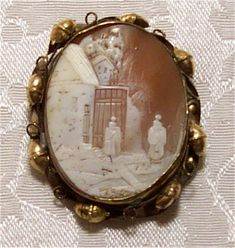 Victorian mourning jewelry was used as a way to honor the deceased.