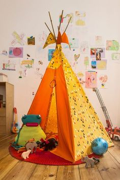 Kostenlose Anleitung: Kinder-Tipi - Initiative Handarbeit