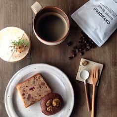コーヒー豆のスプーンレスト