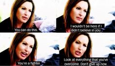 Everyone needs a little bit of Olivia Benson wisdom 