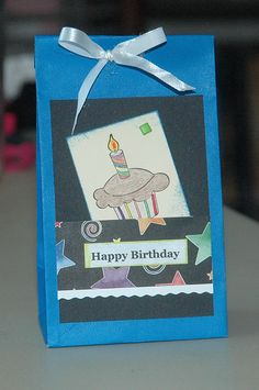 boys party candy bag