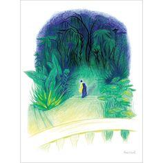 Mortelle Randonnée - Affiche d'art Anne Laval