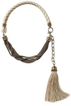 Lanvin necklace, $945, 646-439-0380. - HarpersBAZAAR.com