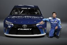 Photo shoot with #78 Martin Truex Jr. and the Auto-Owners Insurance car.