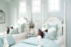 romantic country bedroom decorating ideas | And as always, my blogging pals, you are more than welcome to visit ...