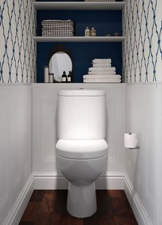 BATHLINE Bathroom Cloakroom Design Bathrooms Northern Ireland is part of Small toilet decor - Small Toilet Decor, Toilet Room Decor, Small Toilet Room, Minimal Bathroom, Simple Bathroom, Modern Bathroom, Bathroom Ideas, Bathroom Organization, Small Bathrooms