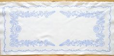 Hungarian Kalocsa Doily Pattern DIY New for Hand Embroidery Large Runner | eBay