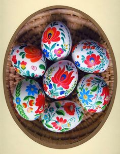 Plenty of Paprika: DIY Painted Hungarian {folk} Easter Eggs