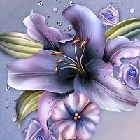 Moonbeams Wynter Lilies 2D 3D Models moonbeam1212