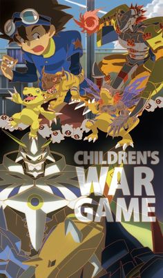 our war game #digimon