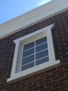 Moldura de gres para ventanas cer mica para exteriores - Molduras para ventanas exteriores ...