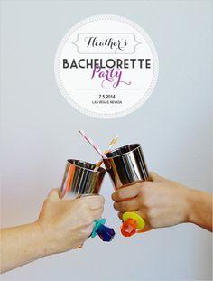 bachelorette party monogram