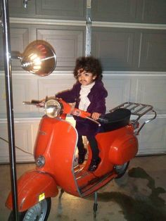 Mini Prince--Purple rain