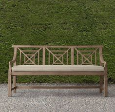 RH's Saltram Bench:An uncommonly graceful chair in Devon, England's magnificent…