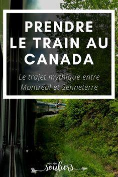 Entre Montréal et Senneterre, la beauté des paysages est à voir lors d'un voyage en train. Trajet mythique qu'on fait tant de gens pour rejoindre la région de l'Abitibi-Témiscamingue. Vous aurez assurément des histoires à raconter si vous prenez par à un voyage en train au Canada. #canada #quebecoriginal Train Travel, Solo Travel, Travel Packing, Province Du Canada, Pvt Canada, Train France, Places To Travel, Travel Destinations, Road Trip